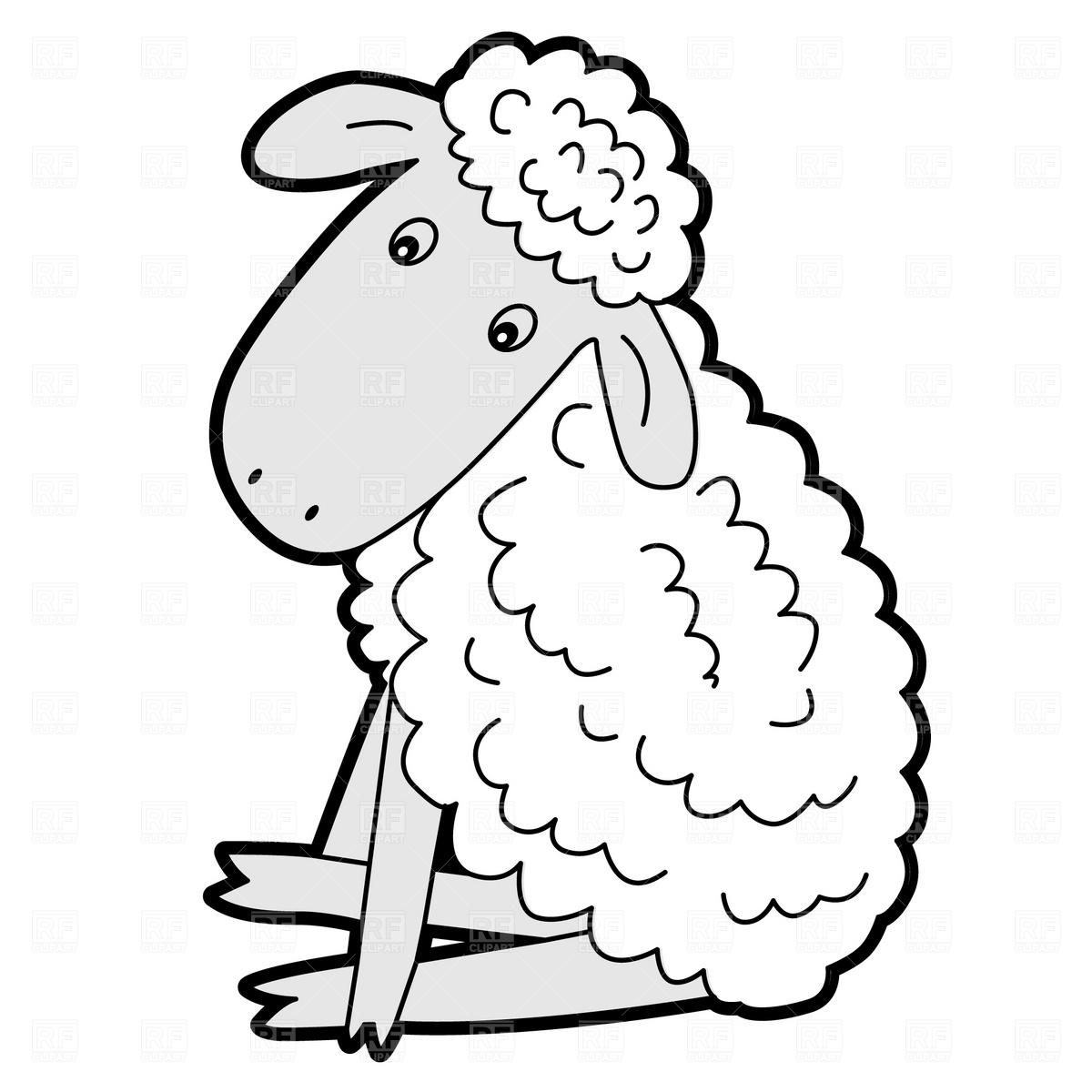 Sheep Black And White Lamb Clip Art Black And White Free