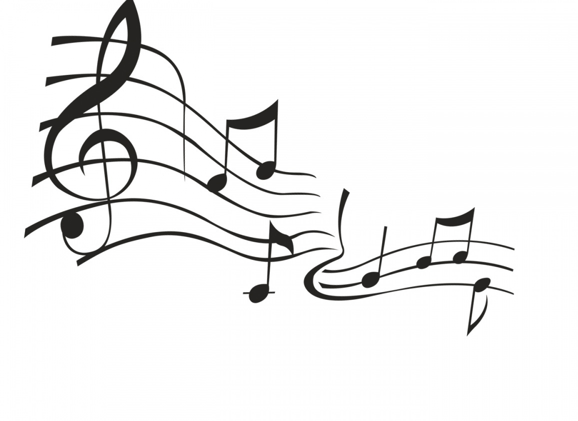 Music Notes Black And White Music Notes No Background