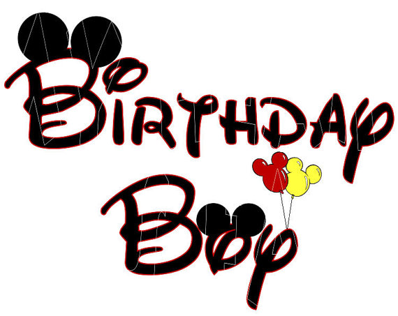 Mickey Mouse Birthday Clipart Free Images 6 Wikiclipart