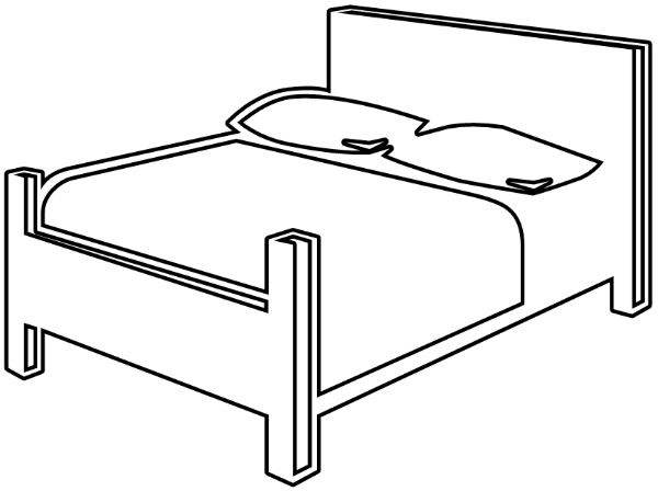 bedroom clipart black and white. bed black and white free bedroom clipart 1 page of t