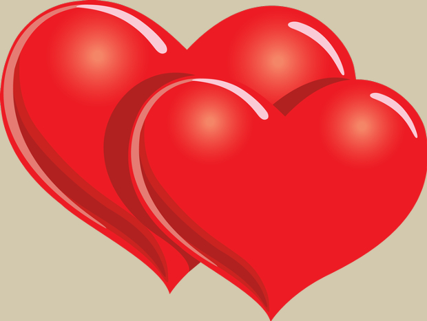 Double heart heart cliparts vector design trends - WikiClipArt (620 x 467 Pixel)