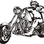 Motorcycle Black And White Harley Davidson Motorcycle Clip Art Cliparts And Wikiclipart