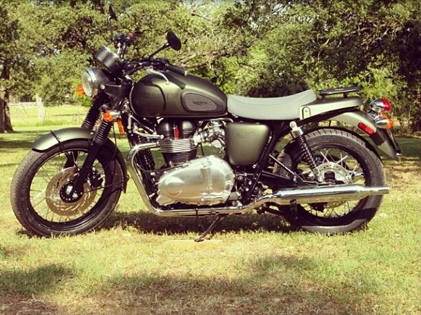 @ericcolsen's Triumph Bonneville Steve McQueen Edition