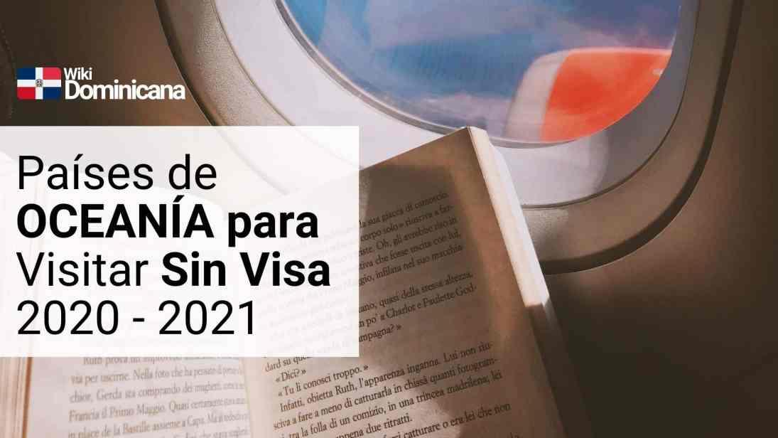 Países de AMÉRICA LATINA Y EL CARIBE que los dominicanos pueden explorar sin Visa en el 2020