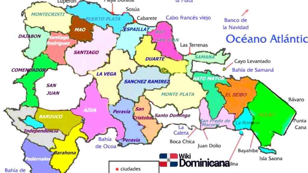 Mapas de la República Dominicana 2020 2