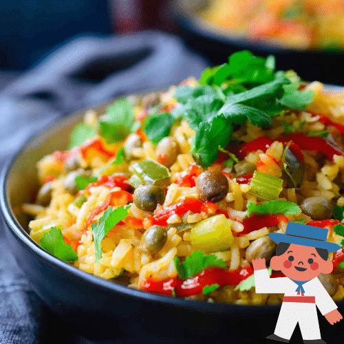 Recetas dominicanas con arroz