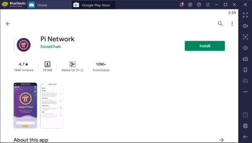 Pi Network App Download for PC