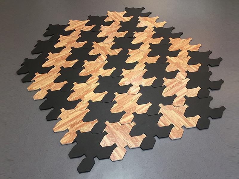 tapis de decoration en mousse wikifab