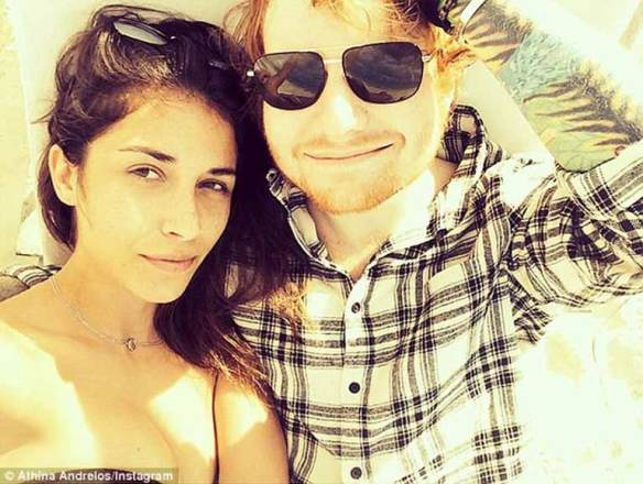 Ed with Athina Andrelos