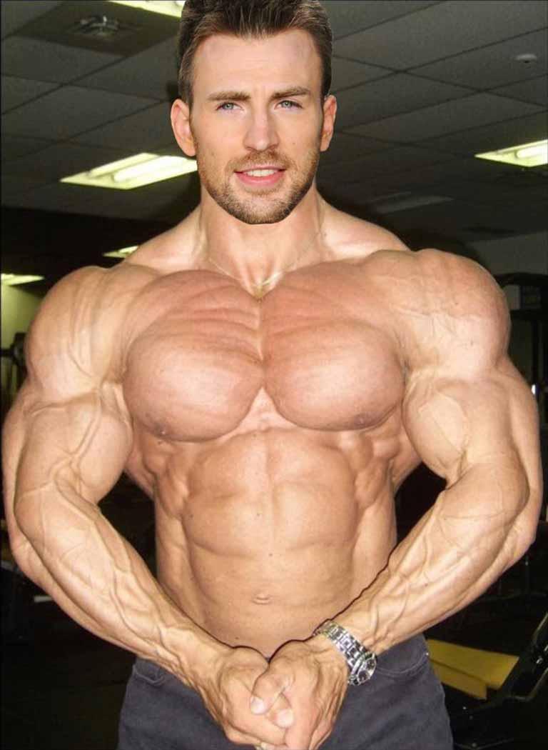 Muscular Body for Avengers