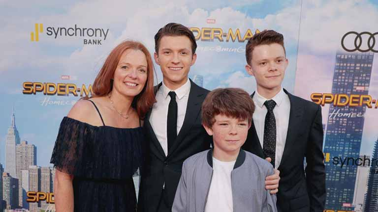 Tom Holland Family
