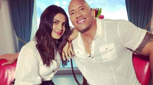 Priyanka with Rock