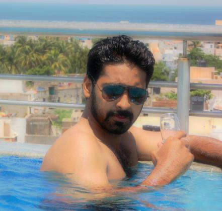 Ashish Swimming