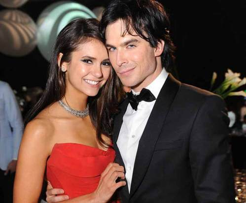 Nina with Ian Somerhalder