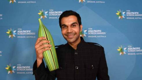 Rajkummar won Asia Pacific Award