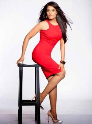 Richa Chadda posing