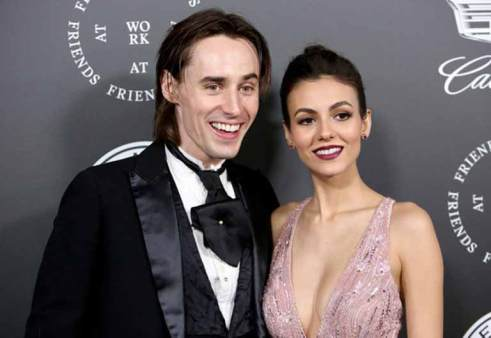 Victoria with Reeve Carney