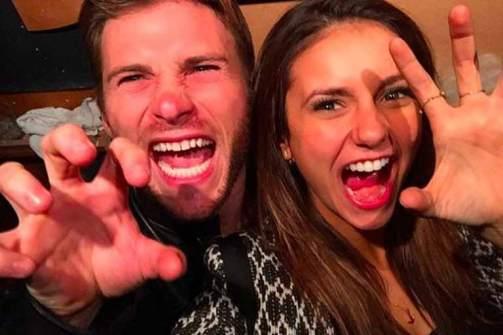 Nina with Scott Eastwood
