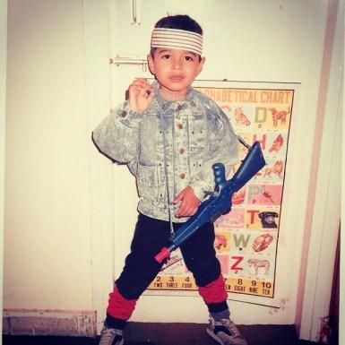 Varun Mitra Childhood pic