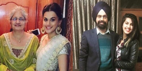 Taapsee Pannu Family