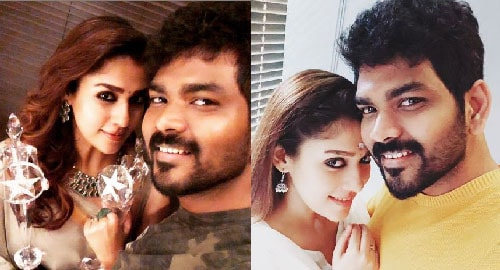 Nayanthara with Vignesh Shivan