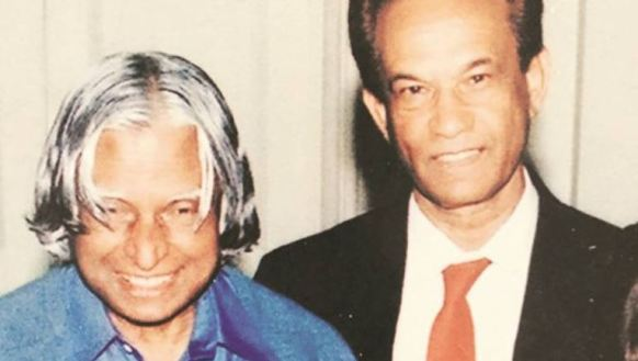 Dr Abdul Kalam with Father