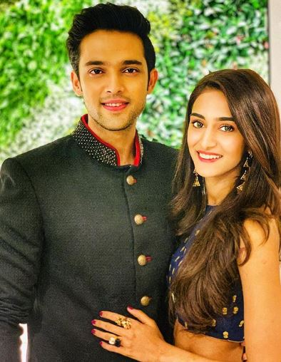 Erica Fernandes and Parth Samthaan