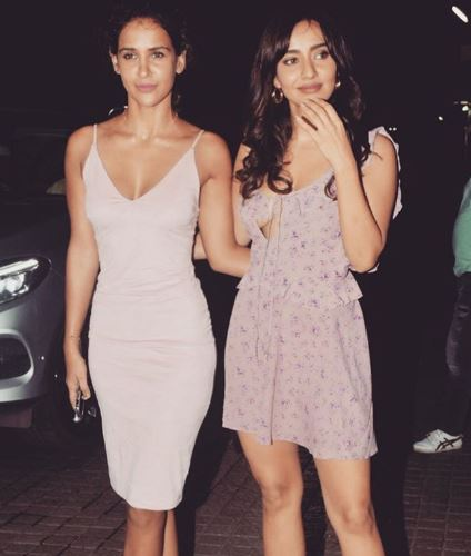 Neha and Sister Aisha Sharma
