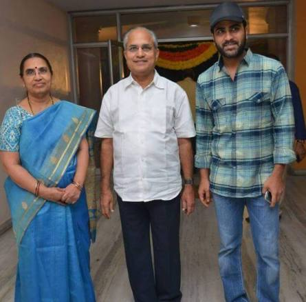 family of actor Sharwanand