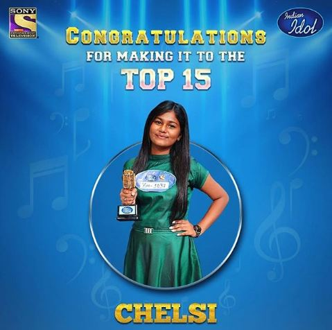 Indian Idol Contestant Chelsi