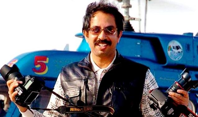 Photographer Uddhav Thackeray