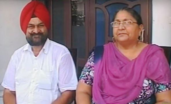 Sandeep Singh Parents