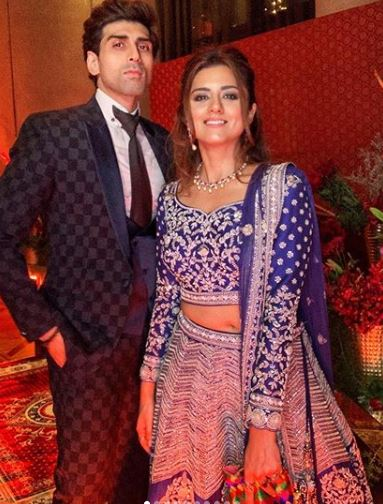 Ridhi with Brother Akshay Dogra