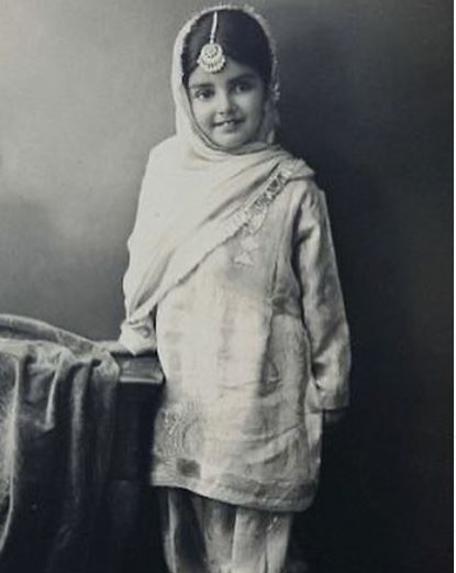 Sara Gurpal's childhood photo