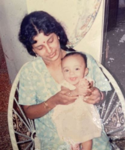 Pearle Maaney Childhood Pic