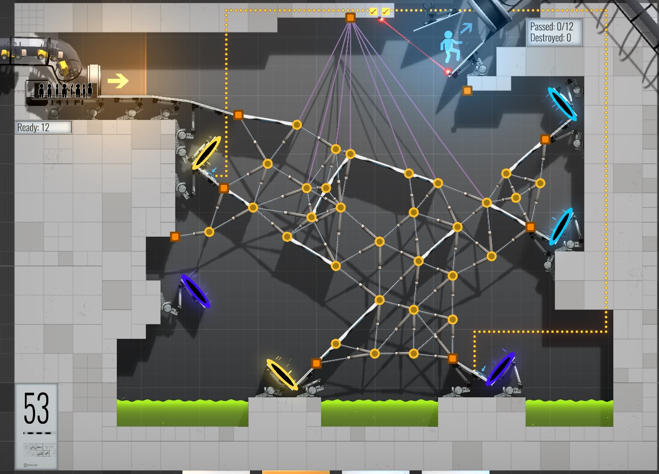 53 Crossings Walkthrough Bridge Constructor Portal WikiGameGuides
