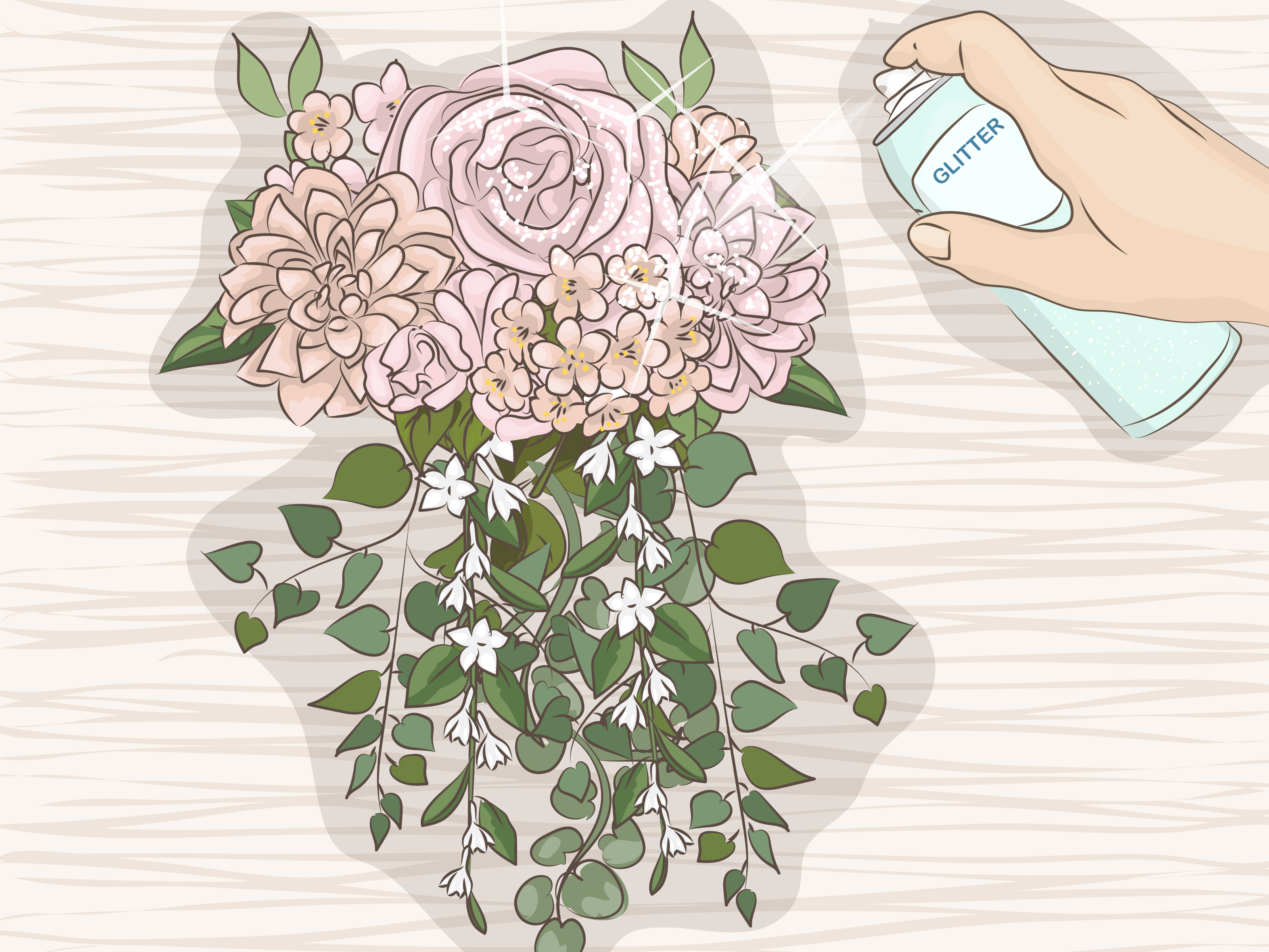 4 Ways To Make A Bridal Bouquet With Artificial Flowers