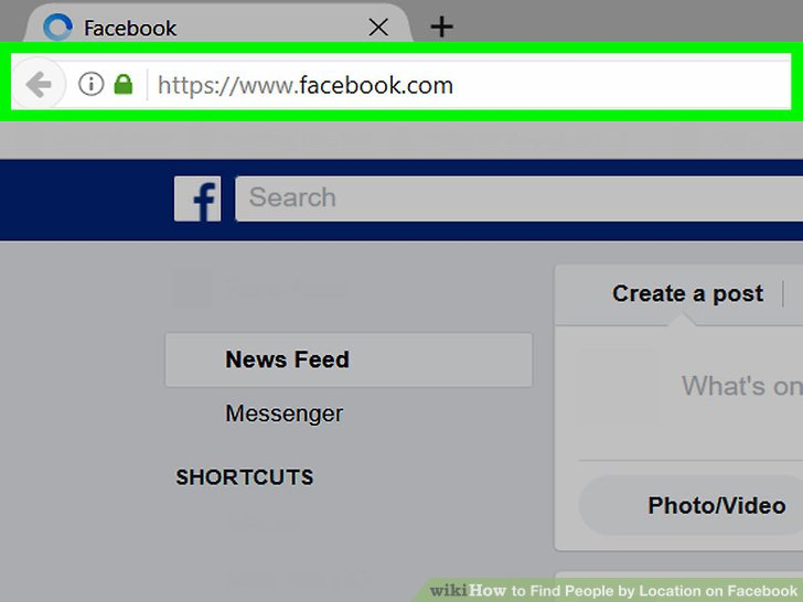 How To Find People By Location On Facebook (with Pictures