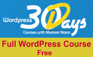 Photo of Latest WordPress Course in Urdu 30 Days [Link Updated]