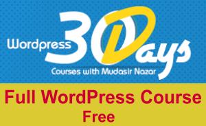 Photo of Latest WordPress Course in Urdu 30 Days [Link Updated]