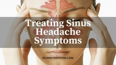 Photo of 3 Tips for Treating Sinus Headaches Symptoms