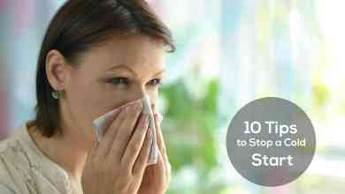 Photo of 10 Tips to Stop a Cold – Before its Start
