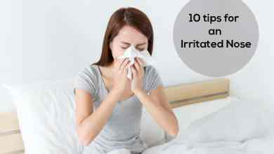 Photo of 10 Tips For an Irritated Nose