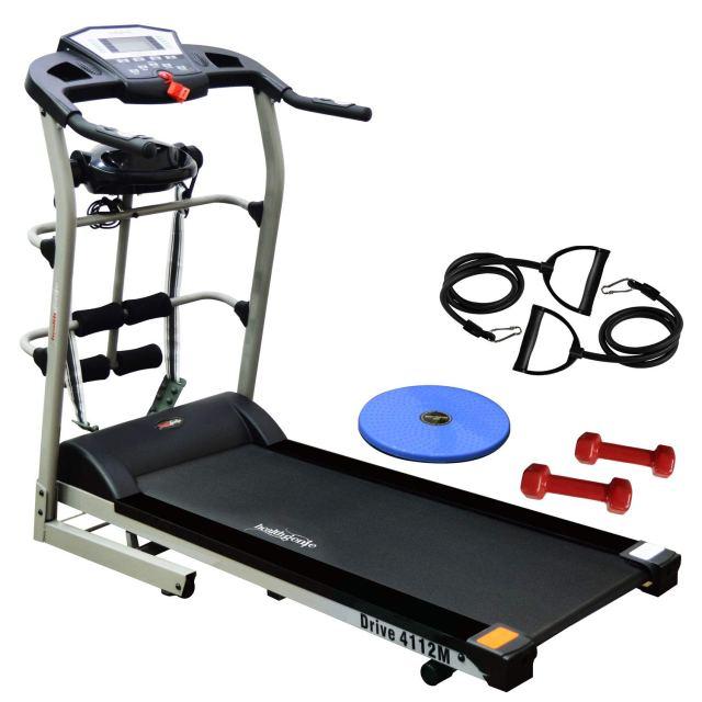 Healthgenie 4112M, 6In1 Motorized Treadmill