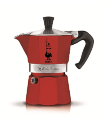 Bialetti Moka Express three Cup Espresso Maker