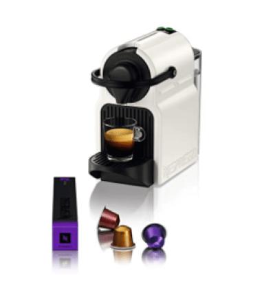 Nespresso Krups Inissia XN100140 White Coffee Machine