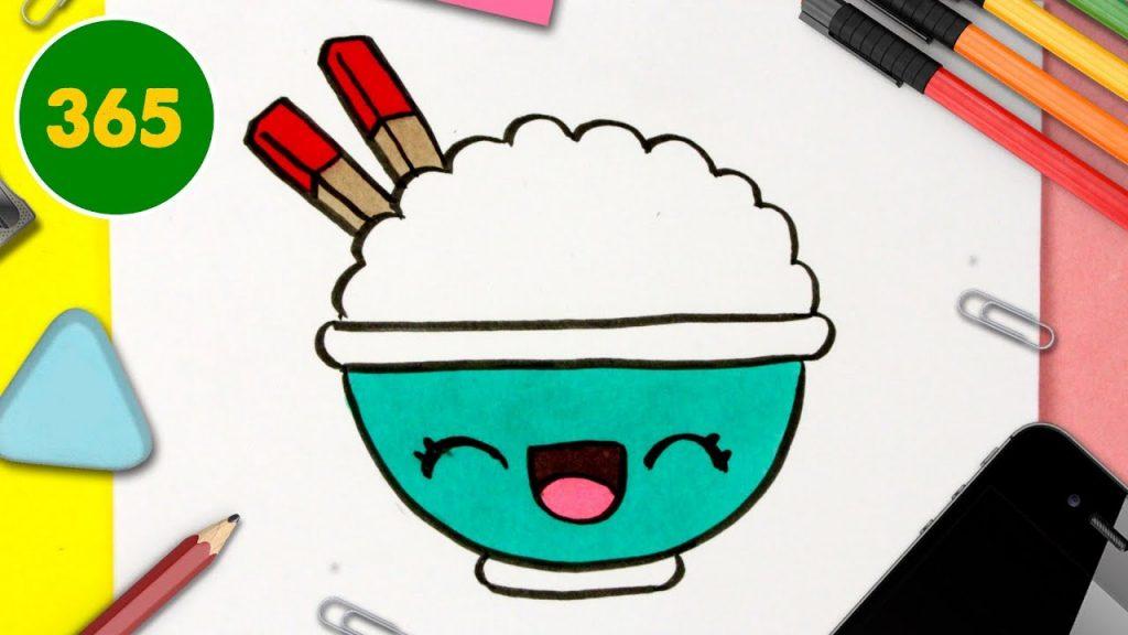 Comment Dessiner Riz Kawaii Dessins Kawaii Facile Dessiner De La Nourriture Kawaii Social Useful Stuff Handy Tips