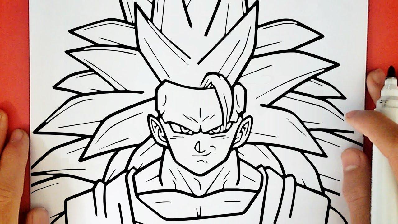 Comment Dessiner Goku Super Saiyan 3 Social Useful Stuff Handy Tips