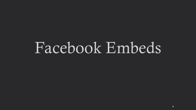 embed-facebook-posts