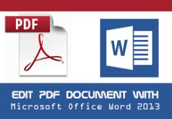 Edit Pdf In Word >> How To Edit Pdf In Word